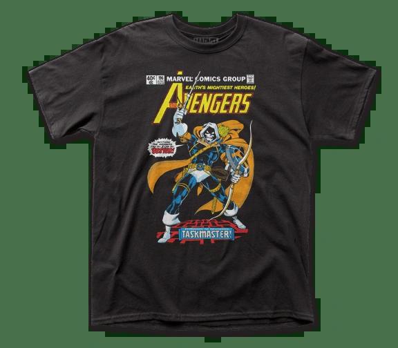 The Avengers Taskmaster Black Short Sleeve Adult T-shirt