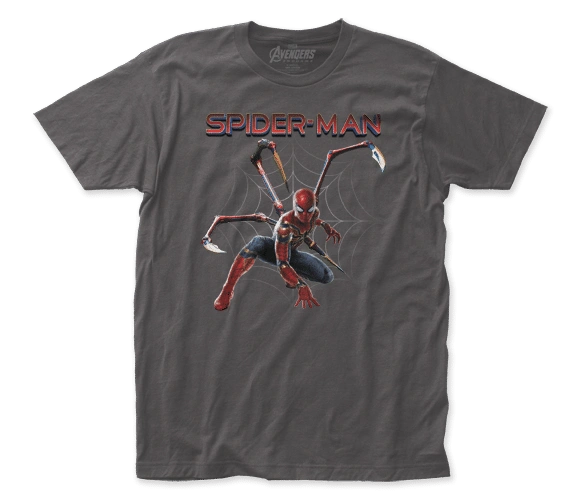 The Avengers Endgame Iron Spider Short Sleeve Adult T-shirt
