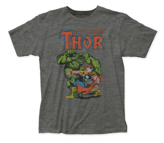 Thor Thor vs Hulk Short Sleeve Adult T-shirt