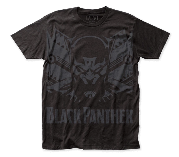 Black Panther Shadow Black Short Sleeve Adult T-shirt