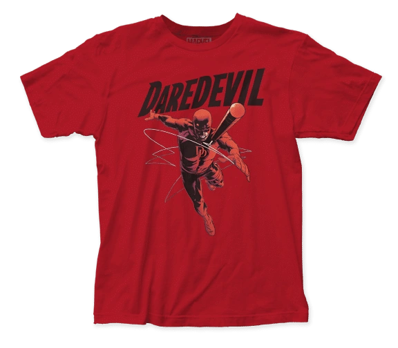 Dare Devil Attack Short Sleeve Adult T-shirt