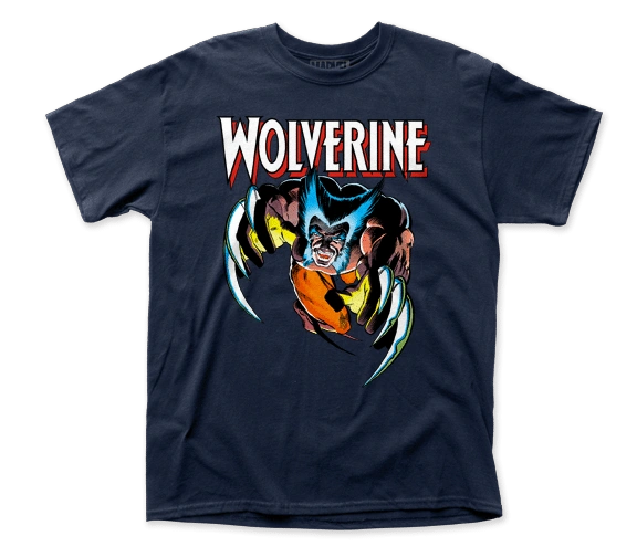 Wolverine Attack Short Sleeve Adult T-shirt