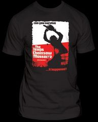 The Texas Chainsaw Massacre Can You Survive Adult T-shirt