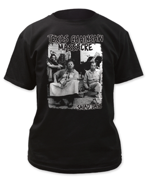 The Texas Chainsaw Massacre Salad Days Black Short Sleeve Adult T-shirt