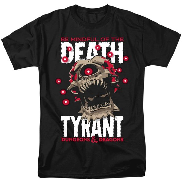 Dungeons and Dragons Death Tyrant Black Short Sleeve Adult T-shirt