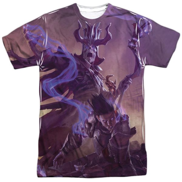 Dungeons and Dragons DM Cover White Short Sleeve Adult T-shirt