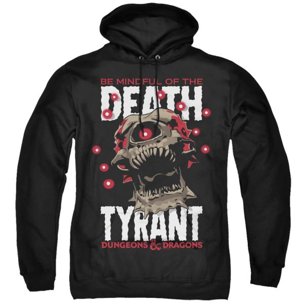 Dungeons and Dragons Death Tyrant Black Adult Pull Over Hoodie