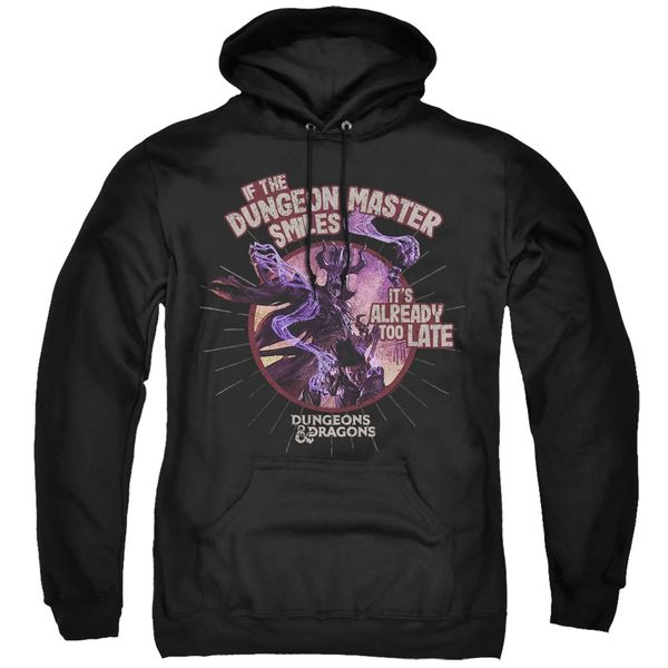 Dungeons and Dragons Dungeon Dungeon Master Smiles Adult Pull Over Hoodie