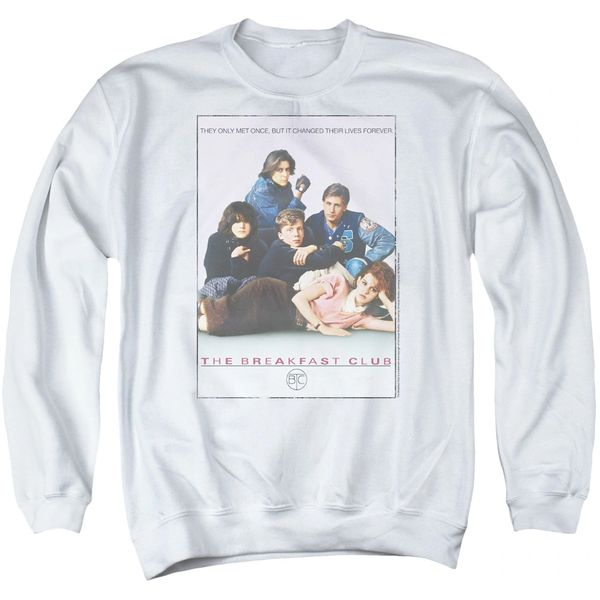 The Breakfast Club Poster Adult Crew neck Sweatshirt
