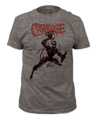 Carnage Action Pose Adult T-shirt