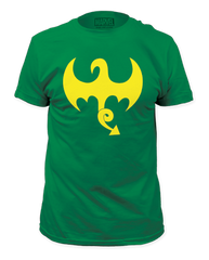 Iron Fist Dragon Logo Adult T-shirt