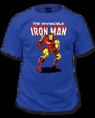 Iron Man Invincible Adult T-shirt