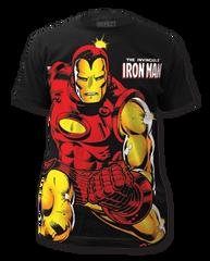 Iron Man Invincible Big Print Adult T-shirt