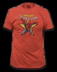 Spiderman Star Adult T-shirt