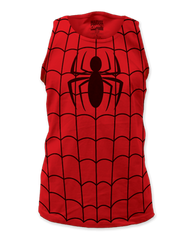 Spiderman Suit Adult Tank Top T-shirt