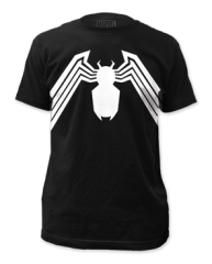 Venom Suit Black Short Sleeve Adult T-shirt