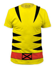 Wolverine Suit Big Print Adult T-shirt