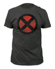 X-men Distressed Logo Adult T-shirt