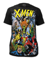X-men The Gang Big Print Adult T-shirt