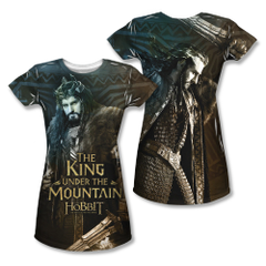 The Hobbit The Battle of the Five Armies King Junior Sublimation Front & Back Print T-shirt