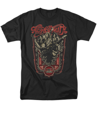 Aerosmith Let Rock Rule Black Short Sleeve Adult T-shirt