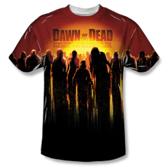 Dawn of the Dead The Swarm Sublimation Print Front Only Adult T-shirt