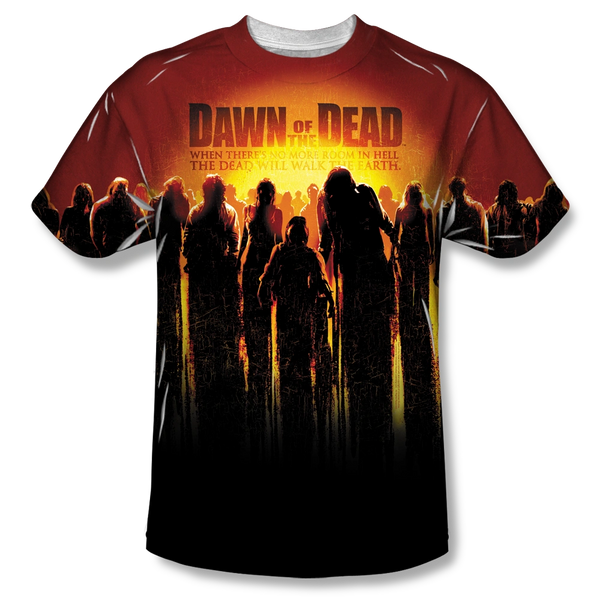Dawn of the Dead The Swarm Sublimation Print Front Only Junior T-shirt