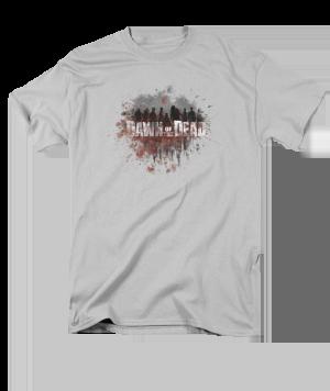 Dawn of the Dead Creeping Shawdows Adult T-shirt
