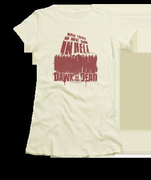 Dawn of the Dead No More Room Junior T-shirt