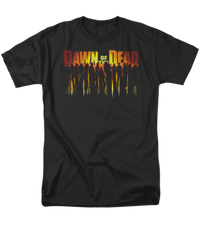 Dawn of the Dead Walking Dead Adult T-shirt