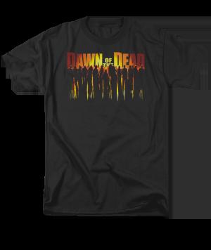 Dawn of the Dead Walking Dead Adult T-shirt