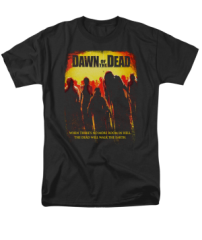 Dawn of the Dead Title Adult T-shirt