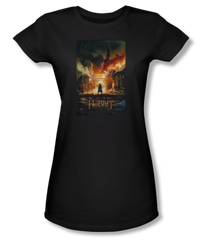 The Hobbit The Battle of the Five Armies Smaug Poster Junior T-shirt