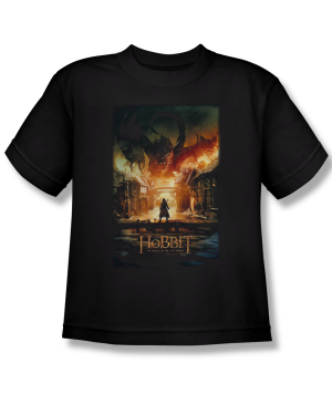 The Hobbit The Battle of the Five Armies Smaug Poster Youth T-shirt