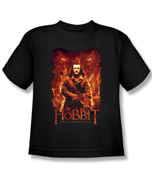 The Hobbit The Battle of the Five Armies Fates Youth T-shirt