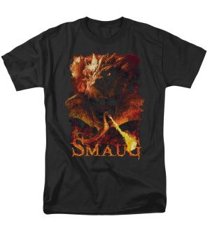 The Hobbit The Battle of the Five Armies Smolder Adult T-shirt