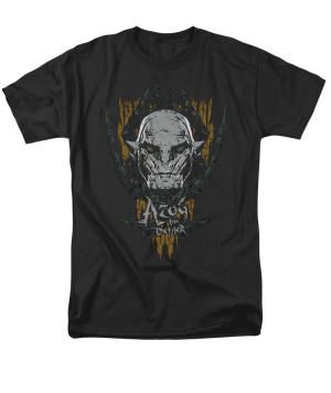The Hobbit The Battle of the Five Armies Azog Adult T-shirt