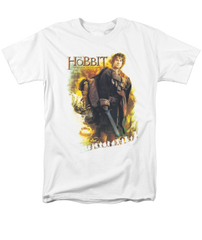 The Hobbit The Battle of the Five Armies Bilbo Adult T-shirt