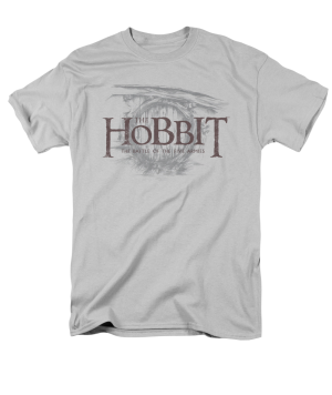 The Hobbit The Battle of the Five Armies Door Logo Adult T-shirt