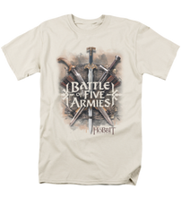 The Hobbit The Battle of the Five Armies Battle of Armies Adult T-shirt