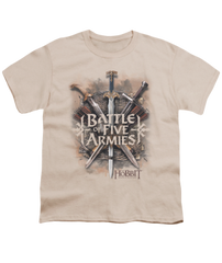 The Hobbit The Battle of the Five Armies Battle of Armies Youth T-shirt