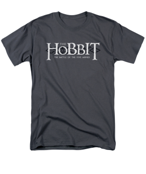 The Hobbit The Battle of the Five Armies Ornate Logo Adult T-shirt