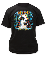 Def Leppard Hysteria Black Cotton Short Sleeve Adult T-shirt