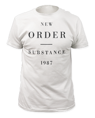 New Order Substance White Short Sleeve Adult T-shirt