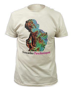 New Order Technique White Short Sleeve Adult T-shirt
