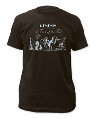 Genesis Trick of the Tail Black Short Sleeve Adult T-shirt