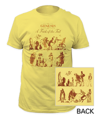 Genesis A Trick of the Tail Banana Short Sleeve Adult T-shirt