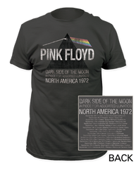 Pink Floyd Piece for Assorted Lunatics Charcoal Short Sleeve Adult T-shirt