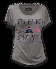 Pink Floyd US Tour 1972 Premium Heather Short Sleeve Women's T-shirt
