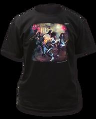 KISS Alive Black Short Sleeve Adult T-shirt